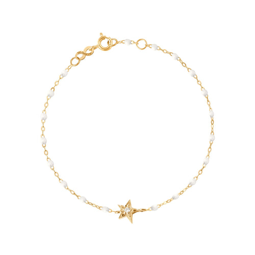 Gigi Clozeau - Star Classic Gigi White diamonds bracelet, Yellow Gold, 6.7