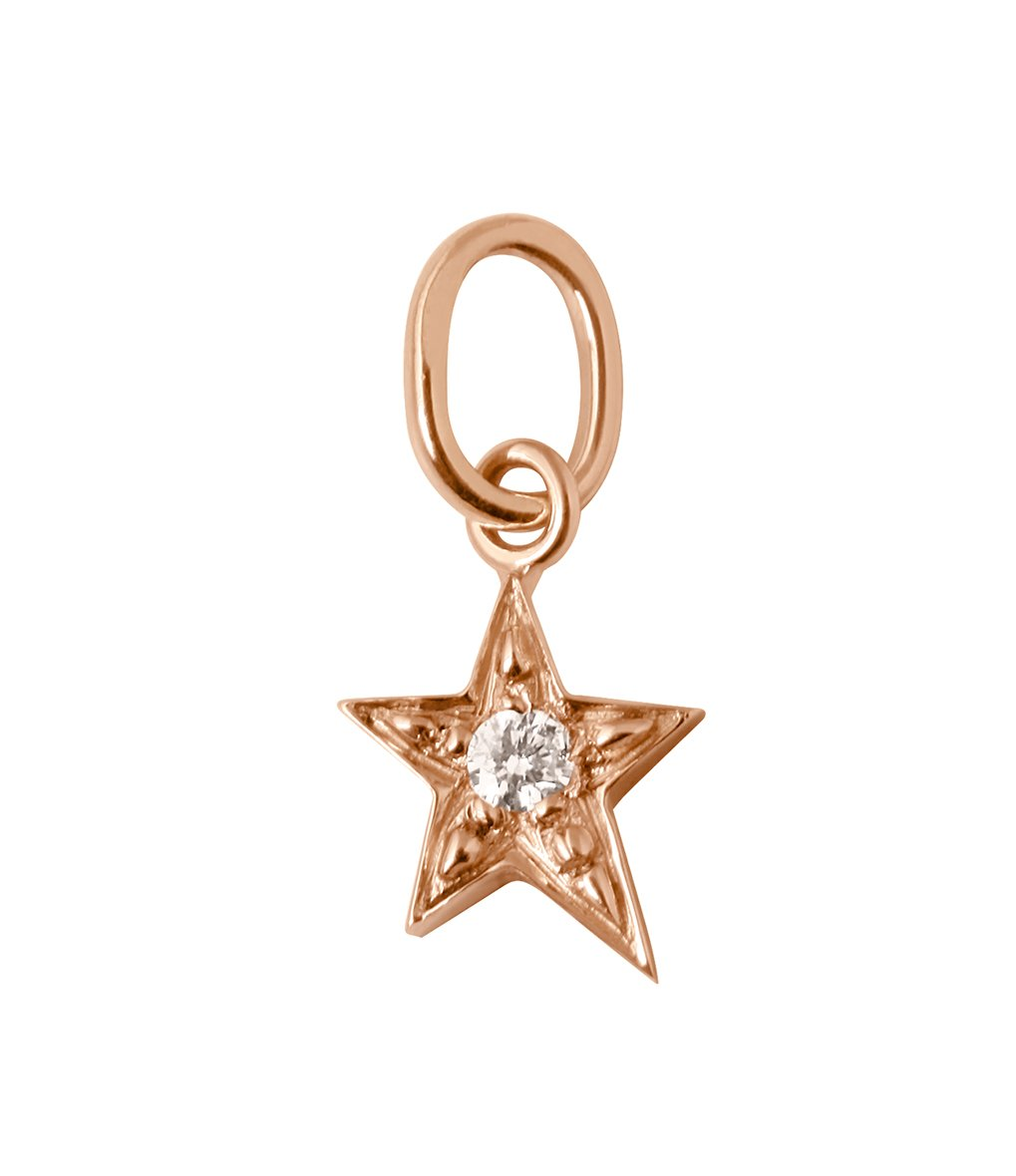 Gigi Clozeau - Star diamonds pendant, Rose Gold