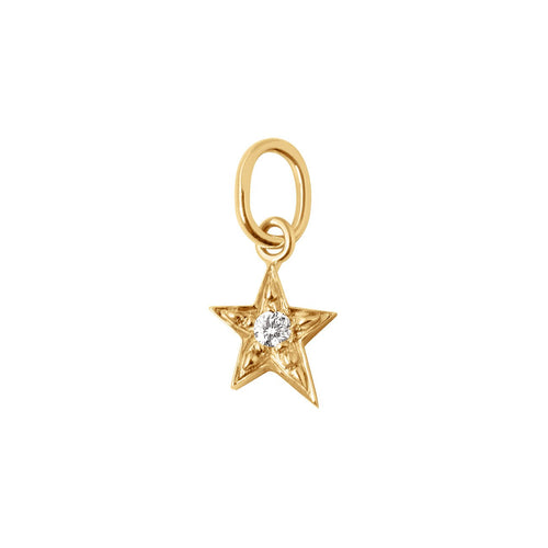 Gigi Clozeau - Star diamond pendant, Yellow Gold