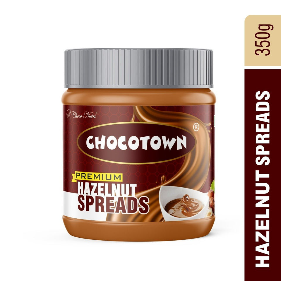 054 Choco Nutri Chocolate Spreads - Premium Hazelnuts Spreads - 350 gm