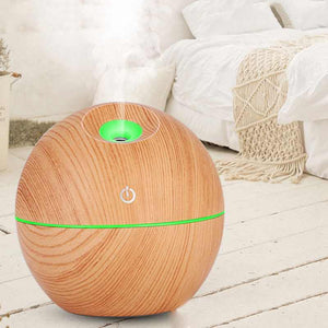 366 Wood Grain Humidifier Ultrasonic Air Humidifier