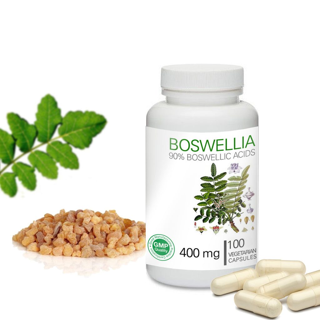 Prince 100% Pure Natural - Boswellia Serrata Extract Powder / 90% Boswellic Acid Capsules | 프린스 보스웰리아 추출물 캡슐