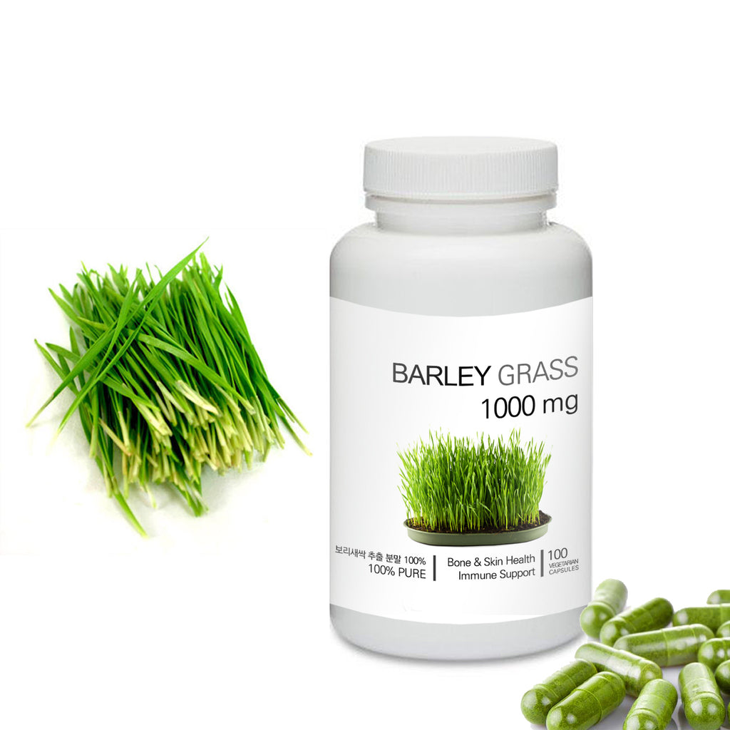 Prince 100% Pure Natural - Barley Sprout / Grass Powder Capsules | 프린스 보리새싹 캡슐