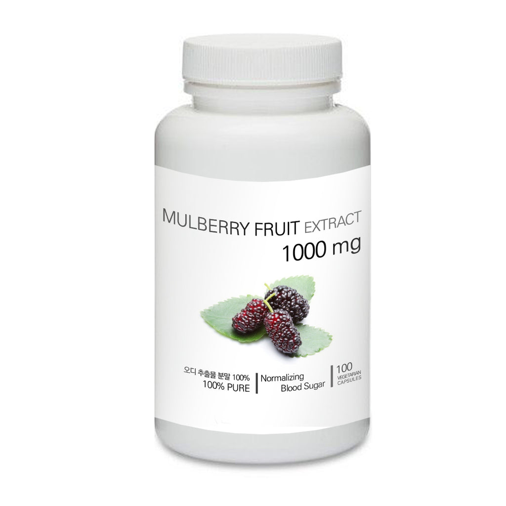 Prince 100% Pure Natural - Organic Dried Mulberry Fruit Powder Capsules | 프린스 오디 (뽕나무열매) 캡슐