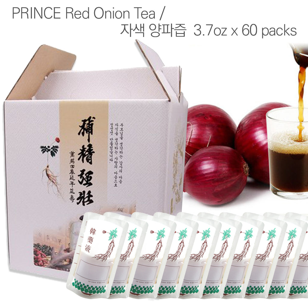 Prince Natural Red Onion Herbal Tea  | 프린스 천연 자색 양파즙