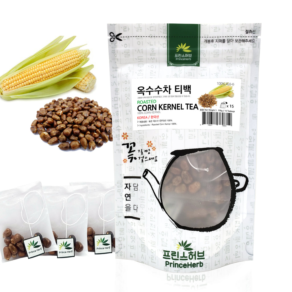 Roasted Corn Kernel Teabag Tea | [한국산] 옥수수차 티백