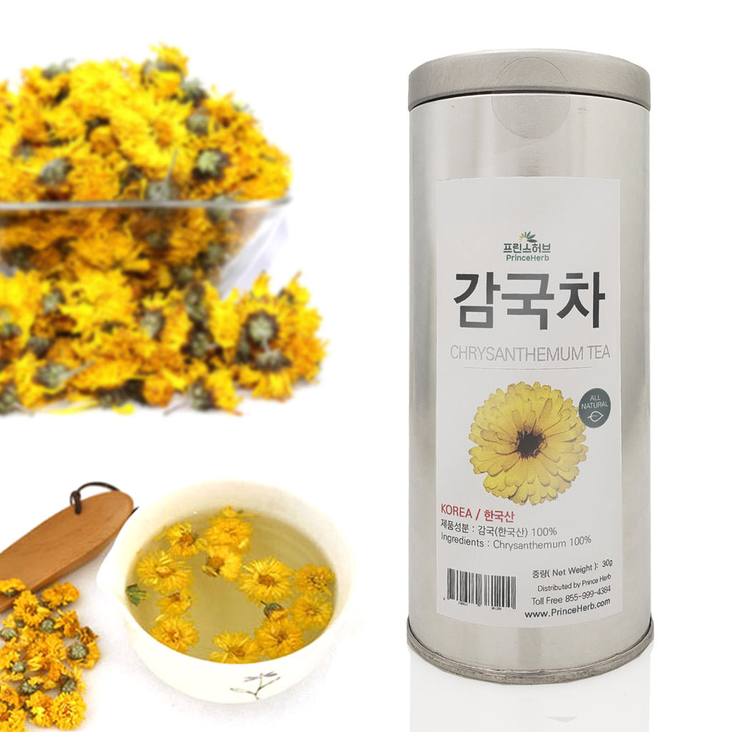 Chrysanthemum Blooming Tea - TIn | [한국산] 감국차 (국화차)
