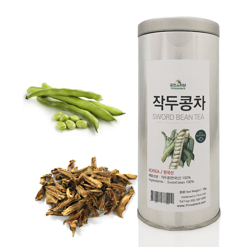 Sword bean (Canavalia gladiata) Tea - Tin | [한국산] 작두콩차 틴캔