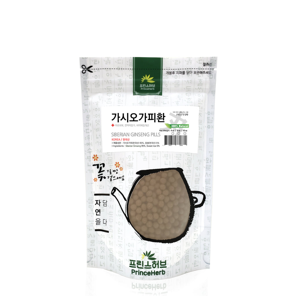 100% Natural Siberian Ginseng Pills | [한국산] 오가피환