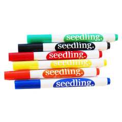 Dry-Erase Whiteboard Markers (6 Color)