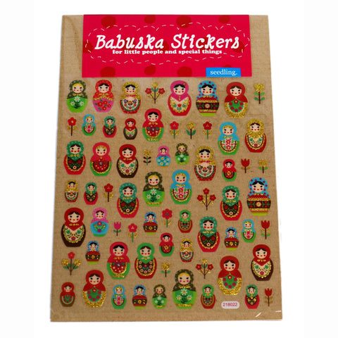 Babuska Stickers