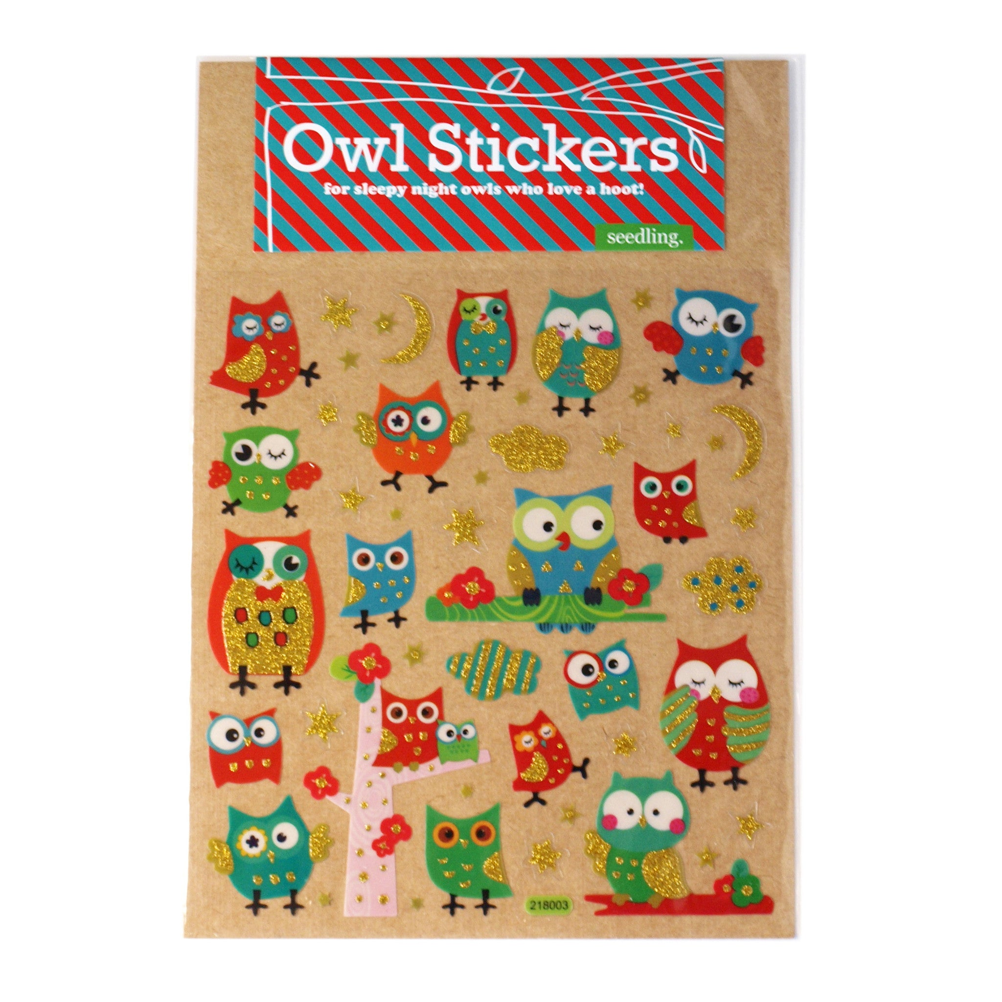 Owl Stickers