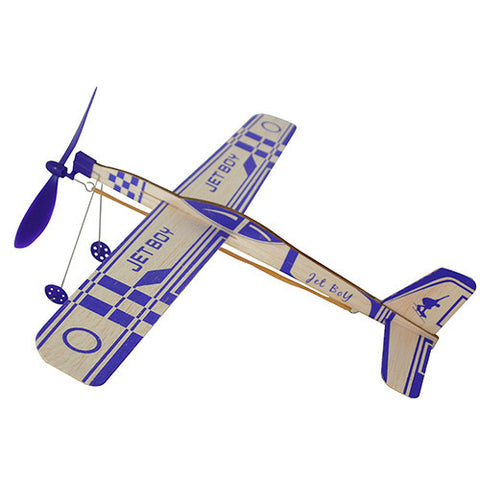 Jet Boy 35cm Rubber Band Powered Glider