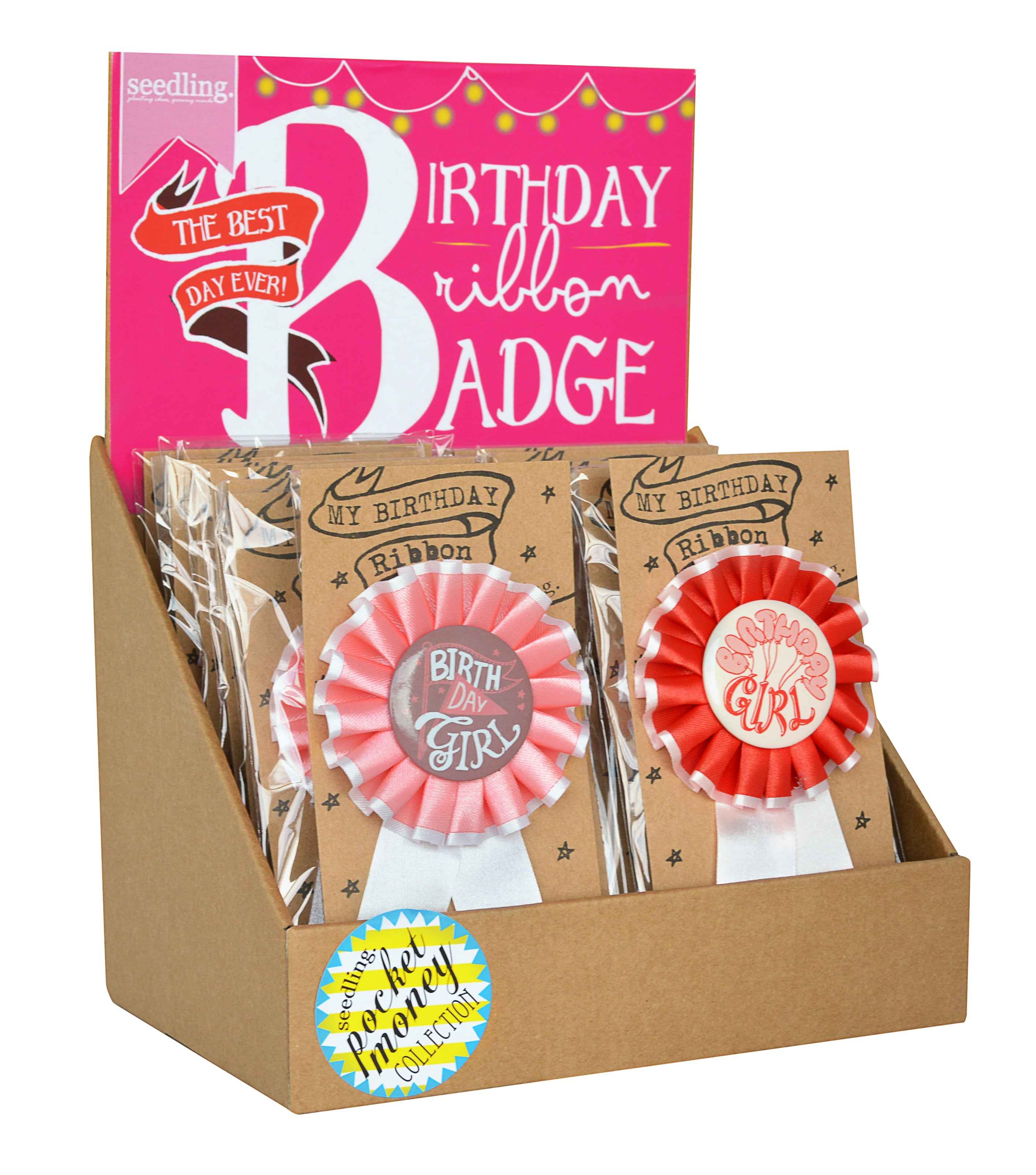 Birthday Ribbon Badge