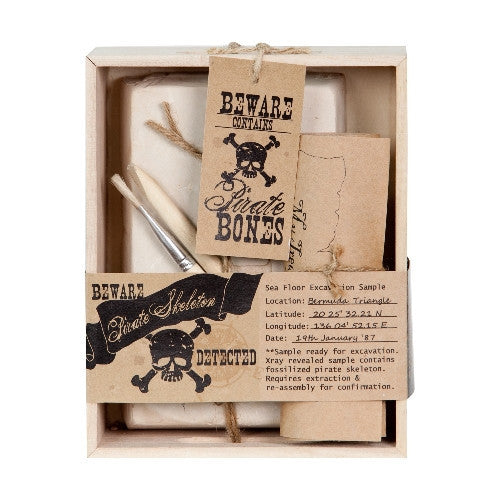 The Pirate Skeleton Excavation Kit