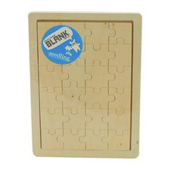 I'm Just a Little Bit Blank Wooden Puzzle