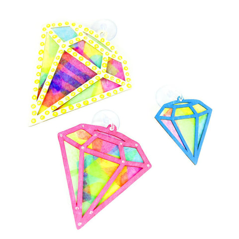 Make Your Own Diamond Sun Catcher