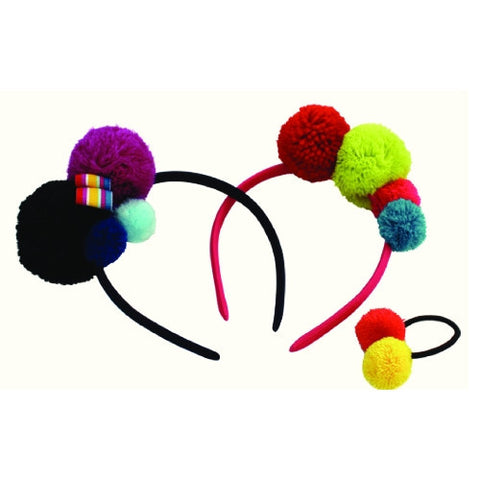 Pom Pom Hair Accessories