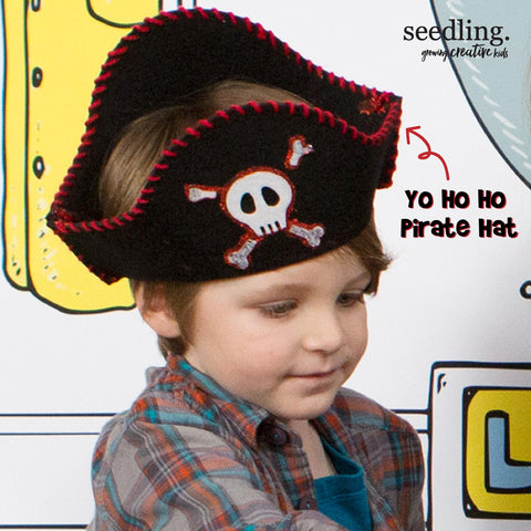 Yo Ho Ho Pirate Hat
