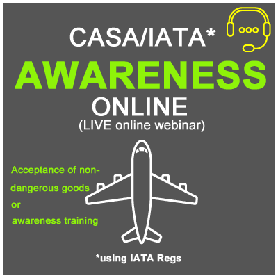 (INI) DG by Air - Live Online - AWARENESS