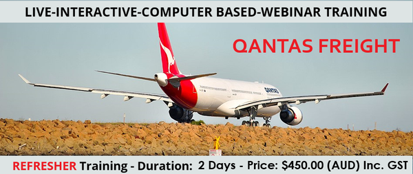 QANTAS Dangerous Goods by Air Refresher - 2 Days