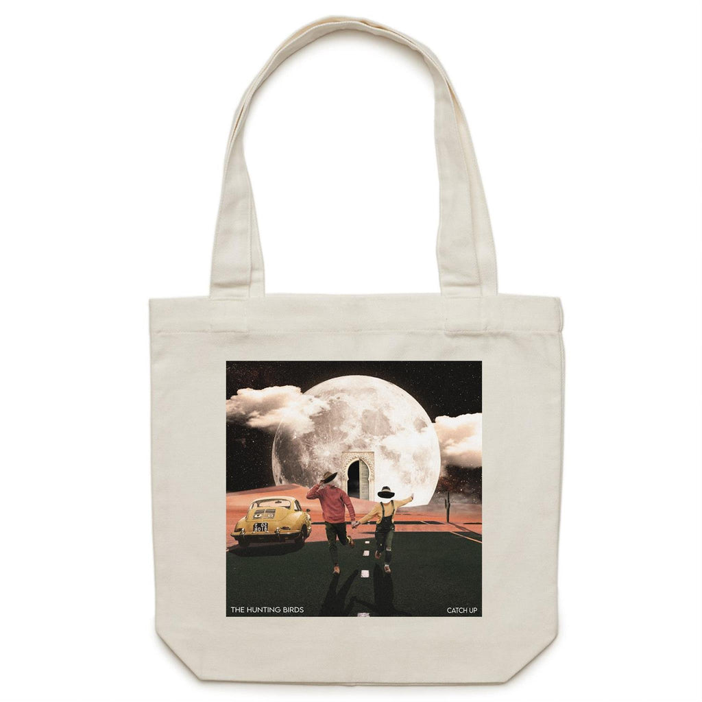 The Hunting Birds Tote Bag Catch Up