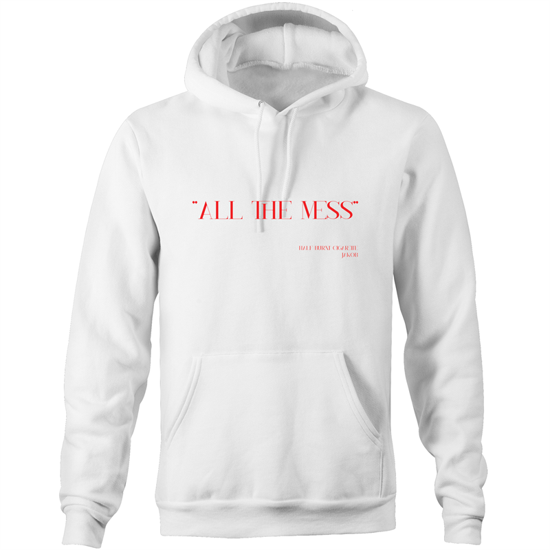 Jakøb Hoodie All The Mess Red