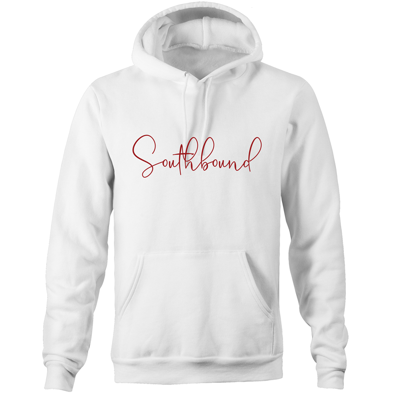 Southbound Hoodie Script Red Wine