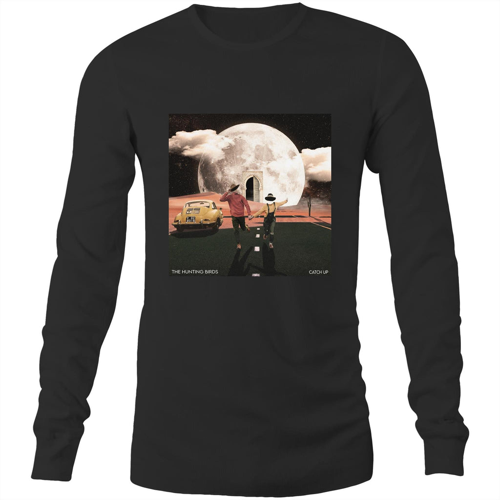 The Hunting Birds Long Sleeve Catch Up Black
