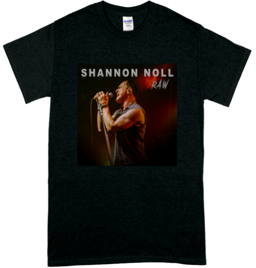 Shannon Noll RAW T-shirt