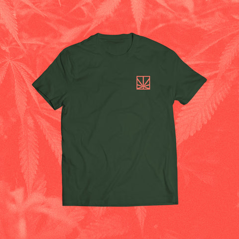 MERRY JANE Stacked Green T-Shirt