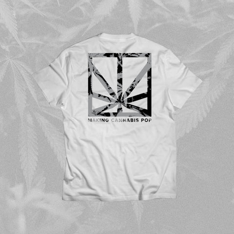 MERRY JANE Logo White T-Shirt