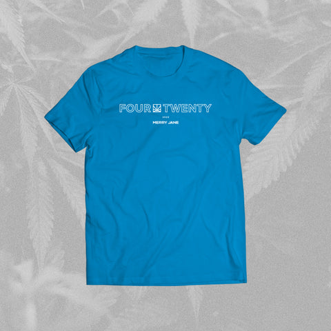 MERRY JANE 4/20 Medical Charity Blue T-Shirt