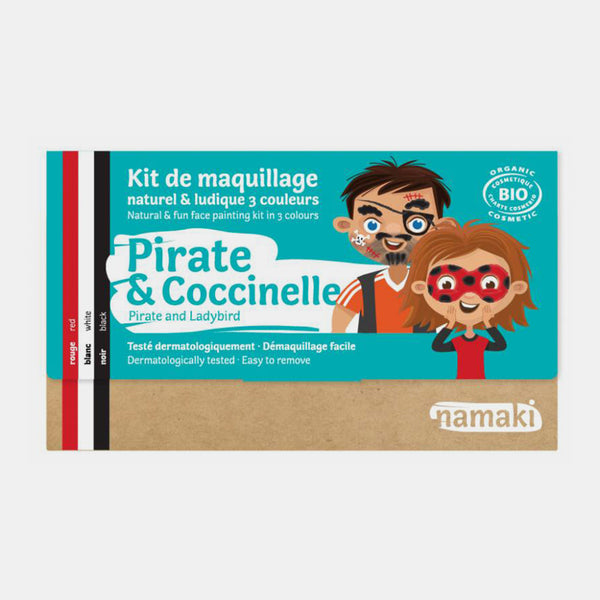 Kit de maquillage Pirate & Coccinelle - Namaki