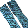 Blue Snake Skin Custom Athletic Fresh Socks