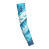 CHRISTMAS SWEATER BLUE  Shooting Arm Sleeve