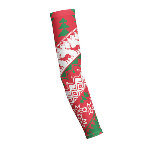 CHRISTMAS SWEATER RED  Shooting Arm Sleeve