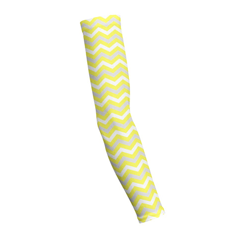 Chevron Yellow  Shooting Arm Sleeve