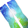 Cosmic Galaxy Custom Athletic Fresh Socks