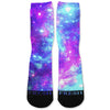 Cotton Candy Galaxy Custom Athletic Fresh Socks