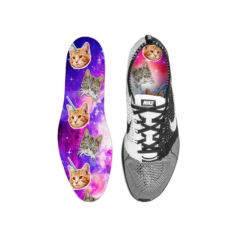 Crazy Space Cats Custom Insoles