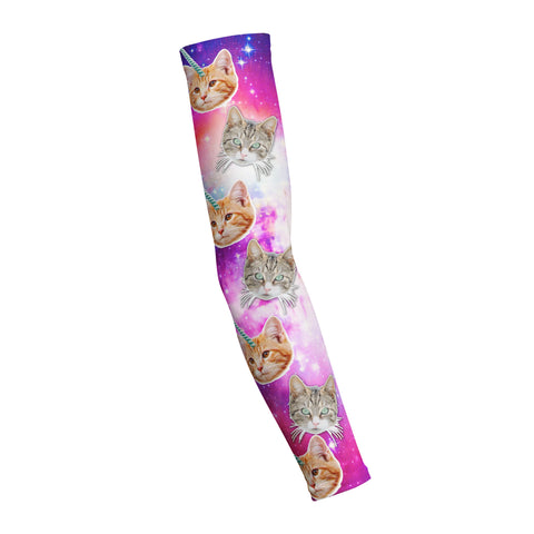 Crazy Space Cats  Shooting Arm Sleeve