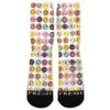 Doughnuts Donuts Extreme Custom Athletic Fresh Socks