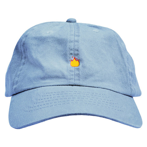 60fa38049cf Fire Emoji Dad Hat – Fresh Elites