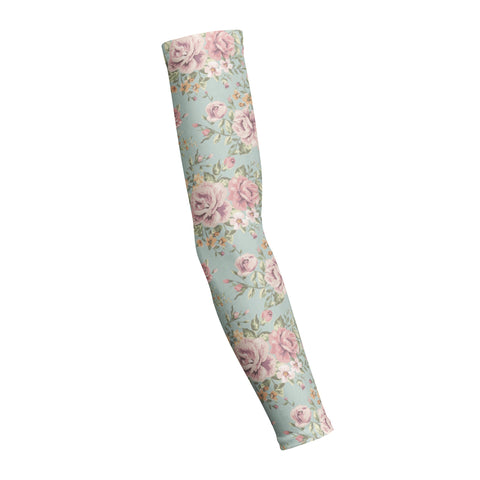 Floral Blue  Shooting Arm Sleeve