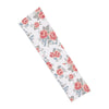 Floral White  Shooting Arm Sleeve
