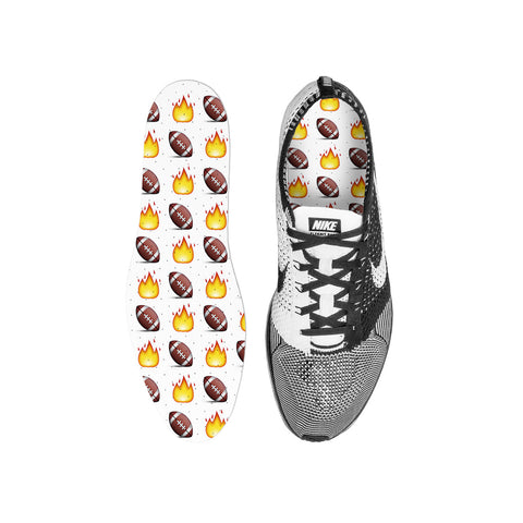 Football Emoji Custom Insoles