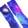 GALAXY MOON Custom Athletic Fresh Socks