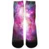 Galaxy Nebula Custom Athletic Fresh Socks