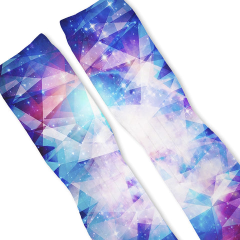 Galaxy Prism Custom Athletic Fresh Socks